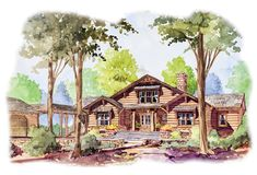 Unique Country Craftsman with Loft - 56138AD | Architectural Designs - House Plans