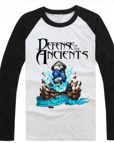 T branco DOTA Raijin Thunderkeg tshirt de alta qualidade para menino-