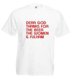 £9.99 #Fulham FC Mens #Football #Tshirt - Worldwide Delivery #Soccer Fulham Fc, Delivery, Soccer, Football, Funny, T Shirt, Ebay, Fashion, Supreme T Shirt