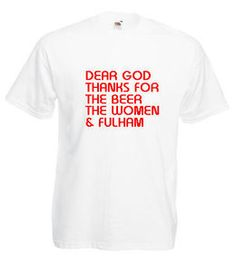 £9.99 #Fulham FC Mens #Football #Tshirt - Worldwide Delivery #Soccer