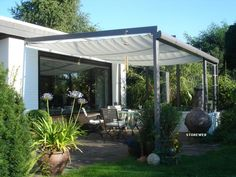Awning 270 x 140 cm. Whilst historical inside thought, the particular pergola has become suffering Indoor Outdoor Living, Outdoor Rooms, Outdoor Gardens, Outdoor Decor, Diy Pergola, Gazebo, Garden Deco, Brick Patios, Covered Pergola