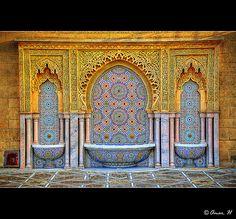 Rabat - Tour Hassan - Moroccan Decoration :: HDR