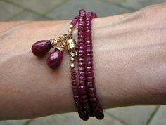The Double Take 200/Gemstone Single Strand Necklace and Bracelet