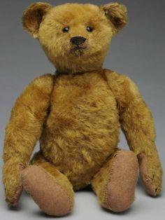 Early Steiff mohair teddy