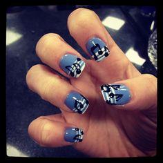 Nail art;; music notes!