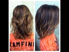 how to ombre your hair/balayage on short hair i love this color - just not the cut.