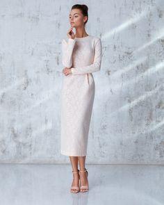 Платье «Лиля» Розовое кружево, Цена— 27990 рублей