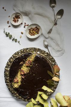 TARTA DE MOUSSE DE CHOCOLATE FÁCIL