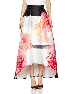 8957299bd Coast Women's Lottie Skirt, Multicoloured, 12. UK skirts. Women skirts.  Women fashion Women dressing. It's an Amazon affiliate link.