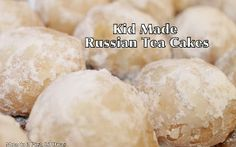 Mom to 2 Posh Lil Divas: Kid Made Russian Tea Cakes (Around the World in 12 Dishes) Best Cake Recipes, New Recipes, Cookie Recipes, Favorite Recipes, Biscuits, Russian Tea Cake, Russian Cookies, Thinking Day, Russian Recipes