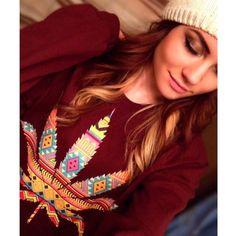 I #love this #sweater   @classydabbin  . Check out her #ganjagirl profile at: Ganjagirls.me/classydabbin .