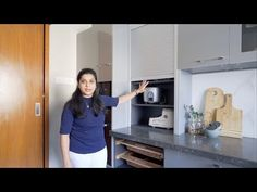 An organised kitchen for every storage need | Mumbai - YouTube L Shaped Kitchen Designs, Kitchen Modular, Kitchen Organisation, Free Space, In Mumbai, Kitchen Ideas, Budget, Interiors, Interior Design
