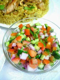 Peng's Kitchen: Maqluba  Iranian Shirazi Salad