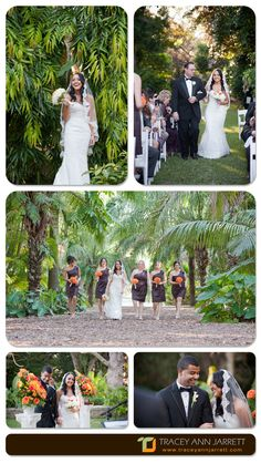 From this dreamy Florida Autumn wedding at the beautiful Fairchild Tropical Garden. Wedding Photography by PhotoNotions Photography, LLC www.tjphotonotions.com #photonotionsphotography #traceyannjarrett