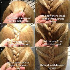 how to mermaid braid