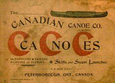 Canadian Canoe Co., Peterborough, ON Wood Canoe, Canoe Boat, Rice Lake Ontario, Canoe Shop, Canadian Canoe, Hunting Art, Duck Decoys, Wood Boats, Old Tools