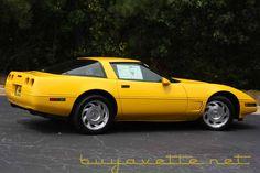 1995 Chevrolet Corvette C4, Dream Machine, Corvettes, Autos, Corvette