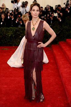 Pin for Later: Seid glamourös oder lasst es sein: Alle Stars vom roten Teppich der Met-Gala! Michelle Monaghan