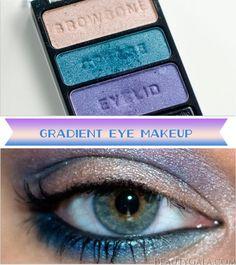 Gradient Eye Makeup Tutorial