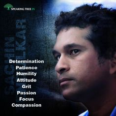 Sachin Tendulkar has been one of the most iconic & prolific sport personalities the world has even seen. A man made of many traits & virtues - a man they say is a habit. Do you agree?
