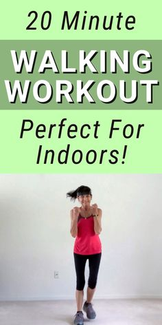 20 Minute Walking Workout - Fitness With Cindy