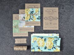 Garden Party Invitations » Picture Party