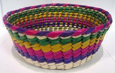 Canasto de Palma de Colores / Palm Tortilla Warmer Basket $7.95