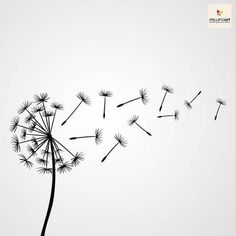 Dandelion Painting · Art Projects for Kids Doodle Drawings, Doodle Art, Easy Drawings, Stencil Templates, Stencil Patterns, Patterns To Draw, Wood Burning Stencils, Art Graphique, Bullet Journal Inspiration