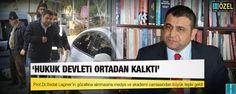 Prof.Dr. Sedat Laçiner'in gözaltına alınmasına büyük tepki