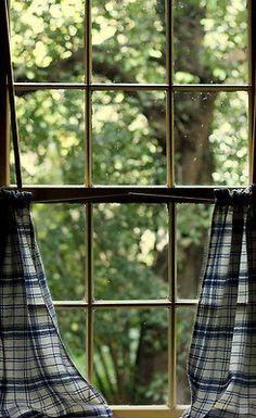 valscrapbook:    elorablue:Window Viewing by Melanie Hillock on Flickr.