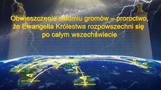 """""""Obwieszczenie siedmiu gromów – proroctwo, że ewangelia Królestwa obejmie cały wszechświat"""" #Chrześcijaństwo  #Ewangelia #Bożaobietnica #Recytacja #SądyBoże  #Proroctwobiblijne"""