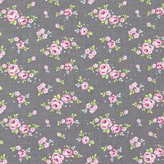 Tilda Mini Rose 2 - Puuvillakankaat kukat - Puuvillakankaat