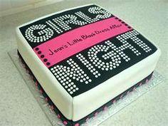 bachelorette cake :) i prefer this over a penis cake thank you