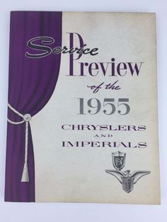 Pinterest the worlds catalog of ideas find best value and selection for your service preview of the 1955 chrysler imperials manual oem factory book vintage search on ebay fandeluxe Gallery