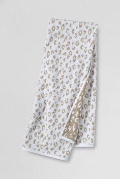 Supima Jacquard Washcloth, Hand & Bath Towels from Lands' End