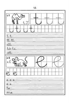 Fotó: Christmas Color By Number, Christmas Colors, Handwriting Worksheets, Home Learning, Creative Teaching, Cursive, Sheet Music, Preschool, Album