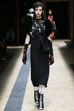 Prada Fall 2016 Ready-to-Wear Fashion Show  http://www.theclosetfeminist.ca/  http://www.vogue.com/fashion-shows/fall-2016-ready-to-wear/prada/slideshow/collection#43