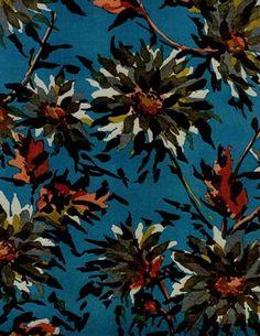 Luli Sanchez hand painted floral: vintage (3/8)