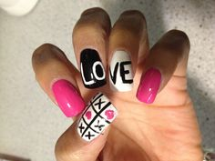 My Valentines Day Nails