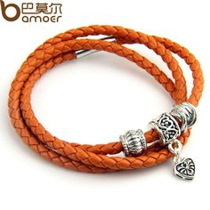 Hot Sale 5 Color Leather Wrap Bracelet for Women Men With 925 Silver Charm Magnet Clasp Free Shipping Gift ALX-SCJS ALX-SCJS
