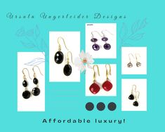 Affordable Holiday Luxury Earrings