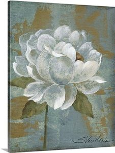 Peony Tile I Photo Canvas Print | Great Big Canvas