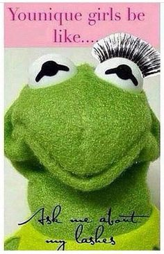 This so funny! You have to try out the 3D fiber lashes that everyone has been raving about!! $29