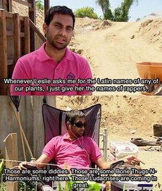 Tom Haverford is so funny on Parks and Recreation *hahhaa bone thugs & harmoniums. Parks And Recreation, Tv Quotes, Funny Quotes, Movie Quotes, Parks And Recs, Parks And Rec Memes, Love Park, Look Here, Have A Laugh