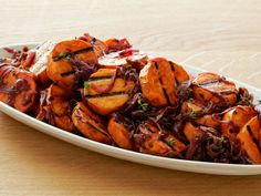 Caramelized Onion Sweet Potato Salad from FoodNetwork.com