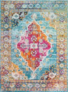 Rugs USA Blue Serendipity rug - Traditional Rectangle x Colorful Rugs, Carpet Design, Home Decor Items, Rugs, Buy Rugs, Home Decor, Contemporary Rugs, Rugs Usa, Bohemian Rug