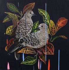 Frank Gonzales. Pinturas aves