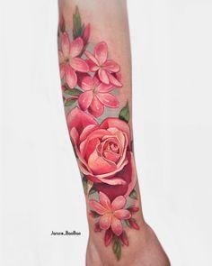 Rose Tattoos, Leg Tattoos, Flower Tattoos, Body Art Tattoos, Girl Tattoos, Tattoos For Guys, Sleeve Tattoos, Tattoos For Women, Turtle Tattoos
