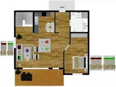 Floor Plan Created With Roomsketcher Free Interior Design Software