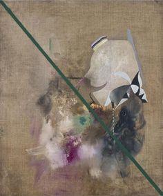 Michael Bauer, Freund 2 - English, oil on canvas, 60x50cm, 2008